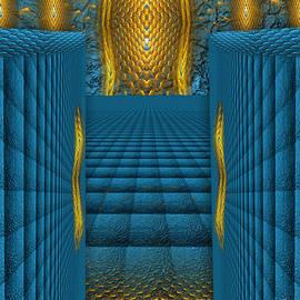 Giada Rossi - The Temple in my heart  - spiritual art by RGiada