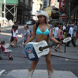 John Telfer - The Times Square Naked Cowgirl