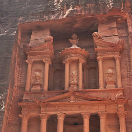 Beth Wolff - The Treasury in Petra Jordan