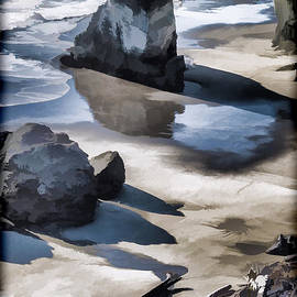 Mick Anderson - The Unexplored Beach Painted