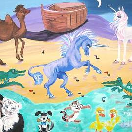 Phyllis Kaltenbach - The Unicorn Song in Paint