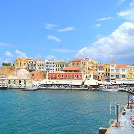Ana Maria Edulescu - The Venetian Harbor Of Chania Crete Greece