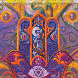 This Is Not A Ketubah - The Vibrant Hamsa Ketubah