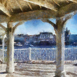 Thomas Woolworth - The View From The Boardwalk Gazebo WDW 02 Photo Art