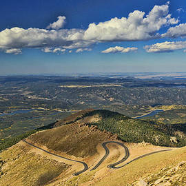 Allen Beatty - The View From the Summit of Pikes Peak