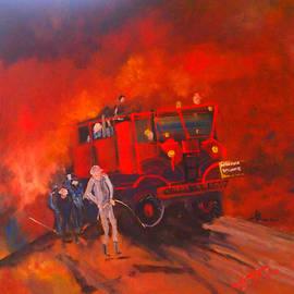 Margaret Morgan - The Vintage Fire Truck