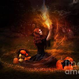 Donika Nikova - ShaynArt - The Witch