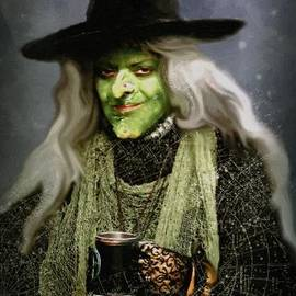 RC deWinter - The Witch of Endor as a Cavalier