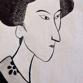 Taikan Nishimoto - The Woman