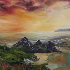 Jean Walker - Thee Cliffs Bay Swansea