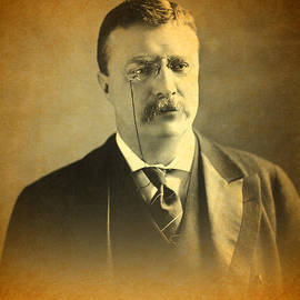 Design Turnpike - Theodore Teddy Roosevelt Portrait and Signature