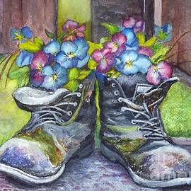 Carol Wisniewski - These Boots Were Made For Planting
