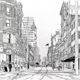 Ira Shander - Third And Walnut Philadelphia 1890