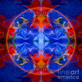 Omaste Witkowski - Third Eye Abstract Living Art by Omaste Witkowski