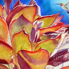 Patricia Pushaw - Thirsty Bird and Cactus
