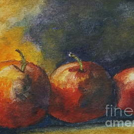 Halina Plewak - Three Apples