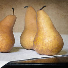 Nikolyn McDonald - Three Bosc Pears - Traditional Still Life