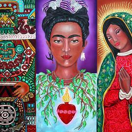 Ilene Satala - Three Faces of Frida