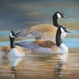 Marcus Moller - Three Geese