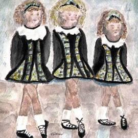 Angela Davies - Three Irish Lasses