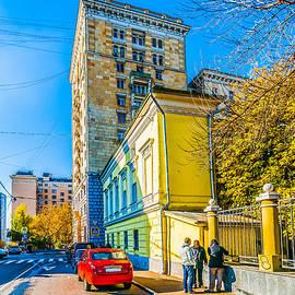 Alexander Senin - Three men in the street