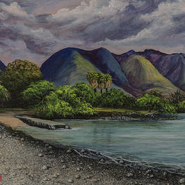 Darice Machel McGuire - Three Palms at Olowalu