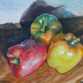 Anne Gifford - Three Peppers
