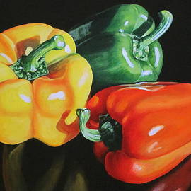 Lillian  Bell - Three peppers