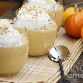 Stephanie Frey - Three Pumpkin Smoothies