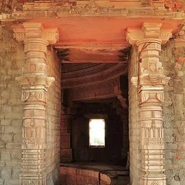 Kim Bemis - When Windows Become Art - Jain Temple - Amarkantak India