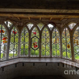 Clare Bambers - Through the Window at the Gothic Cottage Stourhead