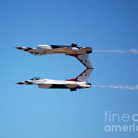 Debra Thompson - Thunderbirds Jet Team Perfect Symmetry