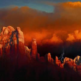 Dale Jackson - Thunderstorm Over Sedona