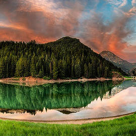 Brett Engle - Tibble Fork Reservoir Sunrise