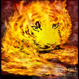 Gary Keesler - Tiger On Fire