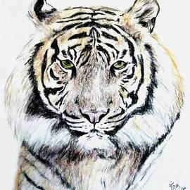 Jim Fitzpatrick - Tiger Portrait