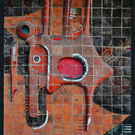 Mary Machare - Tile Cubism - Spain