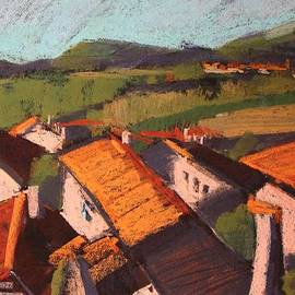 Alena Kogan - Tiled roofs