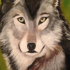 Renee Michelle Wenker - Timber Wolf in Summer