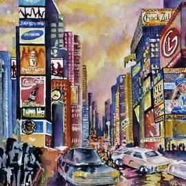 Joy Skinner - Time Square New York