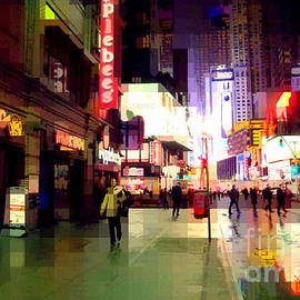 Miriam Danar - Times Square New York - Nanking Restaurant