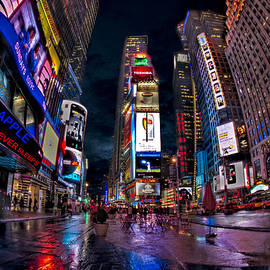 Susan Candelario - Times Square New York City The City That Never Sleeps