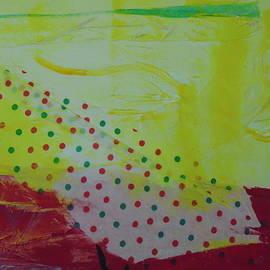 Dotti Hannum - Tissue Paper Abstract