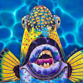 Daniel Jean-Baptiste - Titan Triggerfish