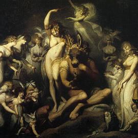 Henry Fuseli - Titania and bottom 1790