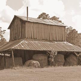 Suzanne Gaff - Tobacco Barn in Sepia
