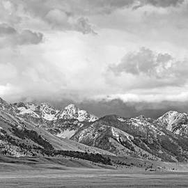 Jennie Marie Schell - Tobacco Root Mountains Montana Black and White