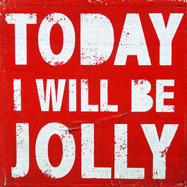 Jolly Van der Velden - Today I will be jolly