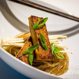 Sabine Edrissi - Tofu and Chinese Noodles - by Sabine Edrissi