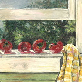 Carol Neal - Tomatoes on the Sill
